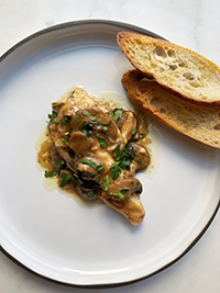 Chicken Marsala 1/2 Tray